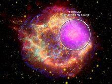 Da satellite Fermi mappa-record esplosioni cosmiche
