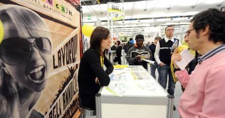 Crolla occupazione giovani, -80 mila occupati in 9 mesi