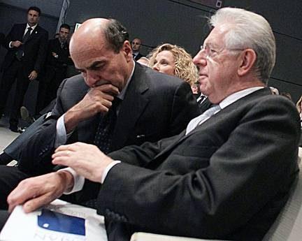 Stop di Bersani a Monti: 'No ai partiti di uno solo'