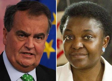 Calderoli: 'Kyenge come un orango' Lo sdegno di Napolitano