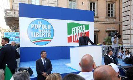 Berlusconi, denunciati organizzatori sit-in