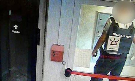 Va in banca,viene derubato dal vigilante
