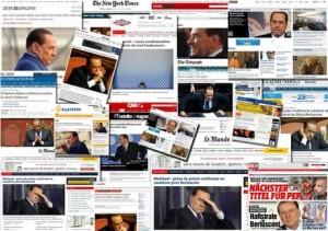 Mediaset: condanna Berlusconi breaking news nel mondo