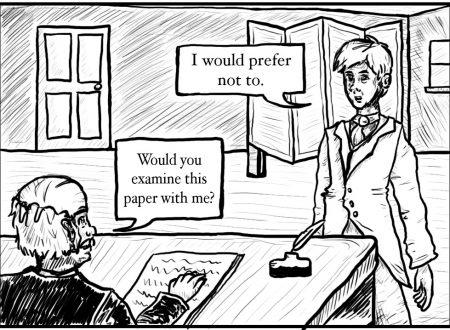 «I prefer to not»: così parlò Bartleby