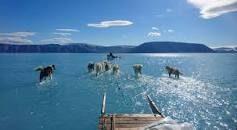 Lo scioglimento dei ghiacciai in Groenlandia
