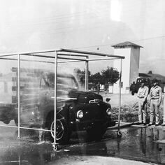 Storia dell'automobile: l'autolavaggio